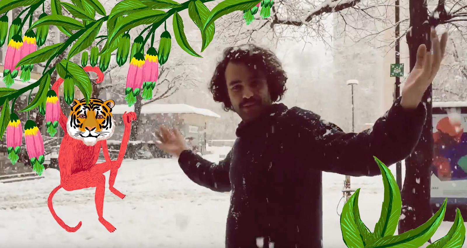 ¿El Baile en la nieve? ¡ QUE NO!